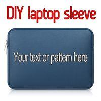 macbook pro luva impermeável de 13 polegadas venda por atacado-Moda criativa luva do laptop personalizado menina bonito pu case para macbook pro air retina 11