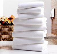 toalhas de banho brancas venda por atacado-Toalha de Toalha de Hotel branco Toalhas de Toalha de Microfibra Macia Branca Toalha de Rosto de Casa Toalhas de Praia de Banho de Cabelo de Mão de Banho de Rosto de Casa