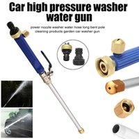 Wholesale jet hoses resale online - Car High Pressure Washer Water Gun Power Jet Washer Spray garden Nozzle Water Hose Wand Attachment DropShip Auto Clean Gun Tool
