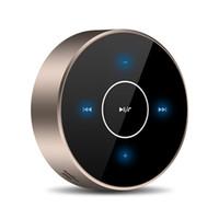 ingrosso cellulare del pannello a sfioramento-A6 Altoparlanti Bluetooth cablati wireless TWS Bluetooth Touch Panel Stereo Subwoofer AUX TF Card Lettore MP3 con microfono per cellulare