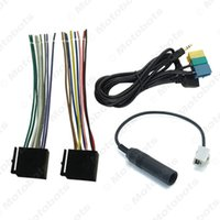 hyundai mp3 großhandel-Auto AUX / USB / Stromkabel / Antennenadapter Suite Set für Hyundai PA710S / KIA Soul Radio / CD / MP3 # 3240