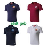 polyester herren poloshirts großhandel-Herren Designer Poloshirts Herren Designer T-Shirts PSG 2020 FC Barcelona Barcelona Polo Designer Herren