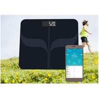 Wholesale bluetooth body fat scale for sale - Group buy Smart Bluetooth Body Fat Scale Human Body Weight Measuring Electronic Scale Health Management Measuring Calorie Calories