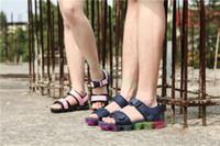 sandale schuhe großhandel-2019 New Style Damen Herren Sandalen Hohe Qualität Freizeitschuhe Unisex Paar Schuhe Frau Sandale Größe 36-45