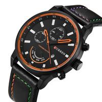 relojes de pulsera de superficie al por mayor-Hombre Muñeca Ginebra Papel Diamante Reloj Calendario Correa Tiempo libre Asuntos de negocios Superficie Moda Casual Reloj mecánico Relojes maestros