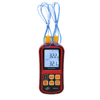 Wholesale thermocouple controller for sale - Group buy RZ GM1312 C Thermocouple Thermometer Dual channel Digital Temperature Meter For K J T E R S N LCD electronic thermometer