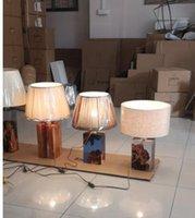 ingrosso lampade di legno fatte a mano-arte resina fluida in legno lampada luce epossidica 95% illuminazione in legno fatta a mano design accattivante interni di fascia alta arredamento per la casa galleria mobili epossidici lusso