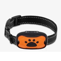 Wholesale bark collars dogs for sale - Group buy Dog barking collar anti barking training collar vibrates stops barking without shock as upgraded pet bark stopper