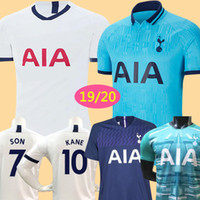 tayland kaliteli futbol forması toptan satış-thailand quality KANE spurs Soccer Jersey2019 20 LAMELA ERIKSEN MOUR DELE SON jersey 18 19 Football kit shirt Men and kids kit SET uniform