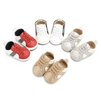 sapatos de loja de bebê venda por atacado-Dono da loja Recomendar Crianças Sneakers Primavera Bebê Moda Casual Cinto Respirável Correspondência de Cores Sapatos Da Criança