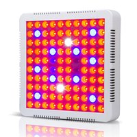 mejores luces hidropónicas led al por mayor-El mejor 100X3W Hydro Grow LED Spectrum completo Valor máximo 9-band 300w Hydroponic LED Grow luces con 100% Real 630nm UV IR