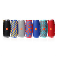 Wholesale outdoor mp3 player resale online - Newest Charge mini Bluetooth Speaker Outdoor Portable Subwoofer Wireless Stereo Speakers With Straps MP3 Music Player