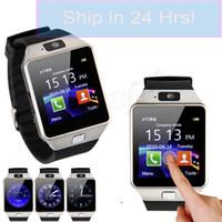 ingrosso telefono della vigilanza dello schermo di tocco della mora-Touch screen degli orologi di Bluetooth DZ09 Smartwatch per l'orologio astuto del monitor di sonno del telefono di Samsung X8 di iPhone Xs Smart con il pacchetto al minuto
