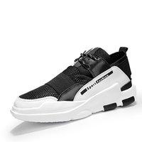 precio de malla de zapatos al por mayor-Deportes al aire libre zapatillas para hombres de alta calidad precio bajo nuevo estilo de malla transpirable jogging atlético con cordones hombre zapatillas de deporte