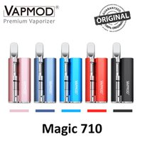 panzer mechanisch großhandel-100% Original Vapmod VMOD Magic 710 Vape Stift Mod 380mAh Batterie Box Fit 510 Zerstäuber für Think Oil Cartridges Dhl-frei