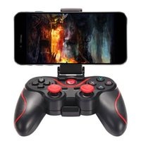 Wholesale android tablet mobile phone for sale - Group buy Wireless BT Gamepad Game Controller For Android Phone TV Box Tablet PC Support mobile TV box tablet handle