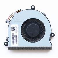 hp laptops cpu fan al por mayor-Dispositivos de bajo ruido CPU CPU Interior eléctrico Dispositivo de enfriamiento duradero Portátil Ventilador de enfriamiento para HP 15-A 15- 15-067tx