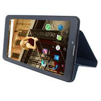 android 3g чехлы для телефонов оптовых-Gift Flip Case 7inch 3G Phone call tablet pc SC7731 1GB+8GB Quad core Android 6.0 WCDMA GSM C723