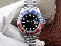 caixa de mergulho de aço venda por atacado-Hot estilo aaa mens relógios de luxo, 904l caixa de aço, 3186 movimento mecânico completo, luxo relógio de mergulho