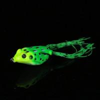señuelos de tipo al por mayor-Tipo de rana Señuelo de pesca Minnow Crank Lures Pike Wobbler for Trolling Spoon Fishing Trout Minnow Bait for Tackle