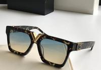 volle schwarze platte großhandel-2019 HOT Luxury Millionaire Black Full-Frame-Vintage-Designer-Sonnenbrille für Frauen Shiny Gold Logo verkaufen Vergoldet Brandneu im Karton