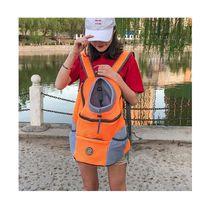 Outdoor Pet Dog Carrier Bag Pet Dog Front Bag New Out Double Shoulder Portable Travel Backpack Mesh Backpack Head
