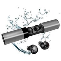 Wholesale s2 bluetooth online – S2 TWS Wireless Bluetooth Earbuds Headset with mAH Portable Charging Case Dual Microphone Waterproof for Android iOS Phone