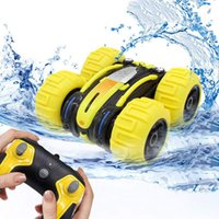 Wholesale rock toys for sale - Group buy 2 G Degree Rotating Double Sided Amphibious Waterproof Stunt Rock Crawler Monster Truck RC Remote Control Car Toy