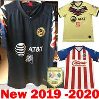 61b570bad DHL Shipping 2020 Mexico Liga MX CHIVAS Guadalajara Club America UNAM  TIGRES 2019 Soccer Jerseys 19 20 cruz azul third Away Football Shirts