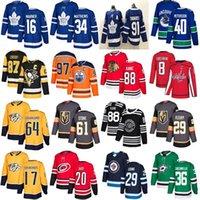 нэшвилл хоккей оптовых-2019 Торонто Мейпл Лифс Вегас Голден Найтс 61 Марк Стоун Старс 36 Цуккарелло Нэшвилл Хищники 17 Симмондс 64 Гранлунд хоккейные майки
