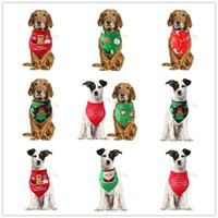 Wholesale designer scarf for winter resale online - Pet Bandana Pet Scarf For Cats Dog Christmas Decoration Headdress Bow Tie Triangle Neckerchief Dog Apparel Accessories Nice Gift For Pets
