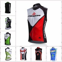 Wholesale merida cycle tops for sale - MERIDA team Cycling Sleeveless jersey Vest bicycling wear men summer The New Breathable bicycle jersey Great value