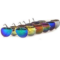 Wholesale sports sunglasses women resale online - New Sports Sunglasses for Men Cycling Sunglasses for Woman aviator sunglasses glare color film men s glasses ZZA365