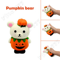 Wholesale rose toy for sale - Group buy Squishies Kawaii toys Children Pumpkin Bear Stress Reliever Scented Super Slow Rising Kids Toy Squeeze Toys Christmas Kids Gift