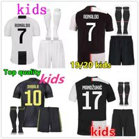 d040508f1 2019 2020 RONALDO Juventus soccer jersey kids kit 19 20 Customized DYBALA  MARCHISIO MANDZUKIC football jerseys kids football kits 2018 19