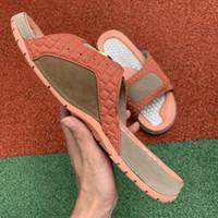 Wholesale new sandals pu for men resale online - Fashion Luxury off Designer flip flops brand shoes for mens platform sandals white slippers slides New Arrival Men loafers size