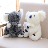 koala bebekleri toptan satış-Koala Peluş Oyuncak Avustralya Hayvan Koala Bebek Sevimli Hayvan Doldurulmuş Yumuşak Bebek Koala Oyuncak Yüksek Kalite Çocuk Oyuncakları