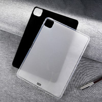 Wholesale lg g slate tablet resale online - Ultra Thin Frost Matte Glossy Soft Gel Silicone TPU Back Cover Case For iPad Pro