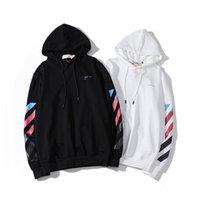 bölümler sweatshirt hoodies toptan satış-Klasik moda ok taban bölümü sokak hip hop erkeklerin kadınları kapüşonlu kazak sırtlı baskı lüks kapşonlu sweatshirt mektubu mens