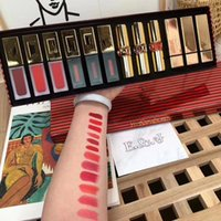 Wholesale branded lipsticks sale for sale - Group buy Limited Edition in1 Matte Lipstick Kit Brand colors Lip Gloss Makeup Hot sale set Cosmetics Gift Box DHL free