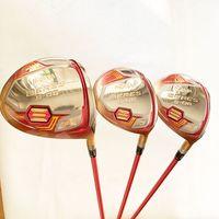 Wholesale womens golf clubs resale online - New womens Golf clubs HONMA S star driver fairway wood graphite Golf shaft cover Golf wood set