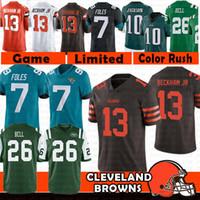 52d41d95d Wholesale cleveland browns jerseys for sale - Cleveland Odell Beckham Jr  Browns Jersey New York Le
