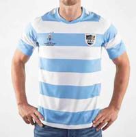jérsei de rugby da argentina venda por atacado-Top Novos 2019 2020 camisetas Argentina Rugby Jerseys T Home Rugby League Jersey 19 20 camisas