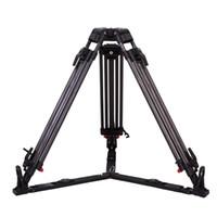 kamerastativfaser großhandel-JP-1675T 50 kg Last Kohlefaser Stative Pan 75mm Schüssel Videokamera professionelle Stativ