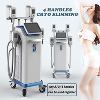 Wholesale cool lipolysis machine online - 2019 Newest Fat Freezing Machine With Cool S culpting Cryo Lipolysis handles fat freeze Double Chin Reduction