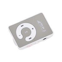 цифровой водонепроницаемый плеер оптовых-Music Digital Mirror MP3 Player TF Card Portable Sports C Button Clip Mini Waterproof