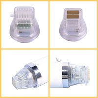 gerginlik iğneleri toptan satış-Fraksiyonel Microneedle RF Makinesi Için Skar Akne Tedavisi Için Streç Işaretleri Kaldırma Radyo Frekansı Mikro İğne RF Cilt Bakımı
