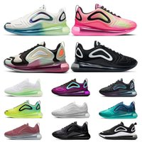 çalışan eğitmenler ayakkabı max toptan satış-ayakkabı AIR MAX 720 airmax Top Quality New 2020 Mens Trainers Running Shoes Triple White Laser Pink Black Gym Red Wolf Grey Womens Designer Sports Sneakers