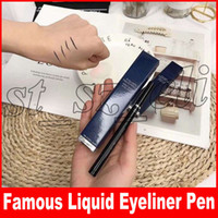 maquillaje líquido a prueba de agua al por mayor-Famous Eye Makeup Precisions Liquid Eyeliner Pencil Impermeable Eye Liner Pen 1ml