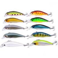 Wholesale trout lures resale online - Minnow Hard Artificial Baits mm g Fish Smart Lure Freshwater Saltwater Crankbait Trout Minnows Fishing Lures LJJZ308